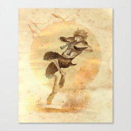 Faune d'Or Canvas Print