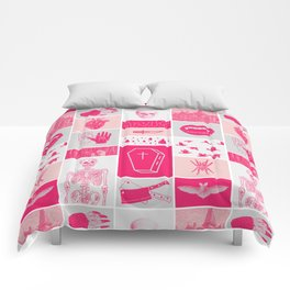 Fright Delight Comforters