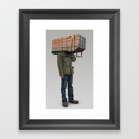 I built it for myself Framed Art Print