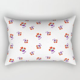 Dot-Dot-Spring-Flower Rectangular Pillow
