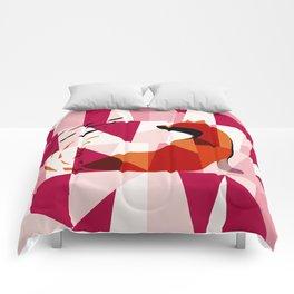 Fox Geometric Pattern Comforters