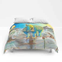 Rhino, Water Boy aka Puddles Comforters