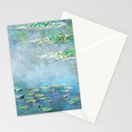 Monet Water Lilies / Nymphéas 1906 Stationery Cards