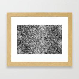 Pattern psychedelia Framed Art Print