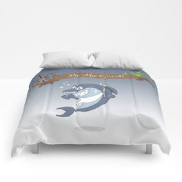 Cartoon Shark Comforters