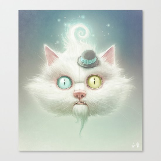 Release the Odd Kitty!!! Canvas Print