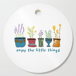 Enjoy the Little Things Cutting Board