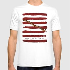 Navy Jack MEDIUM Mens Fitted Tee White