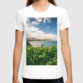 Kilauea Lookout Kauai Hawaii   Tropical Beach Nature Ocean Coastal Travel Photography Print T-shirt