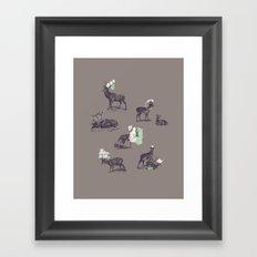 Good Use Framed Art Print