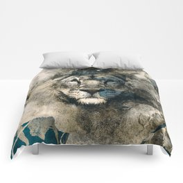 LION CAMOUFLAGE Comforters