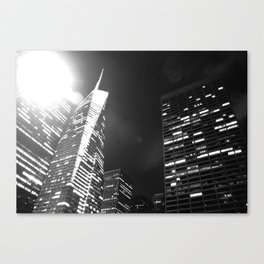 Bright Lights, Big City Canvas Print