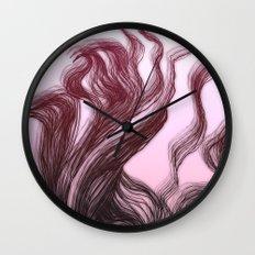 hair (3) Wall Clock