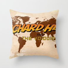 Indiana Hell & The Voidoids Throw Pillow