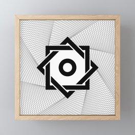 Rub El Hizb Framed Mini Art Print