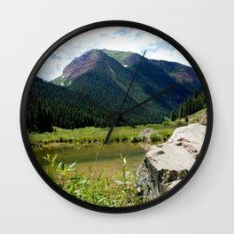 Beaver Lodge at Bear Mountain Wall Clock