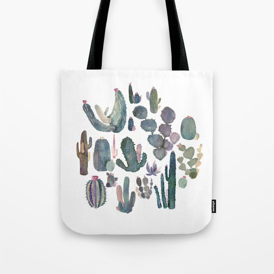 cactus fat Tote Bag