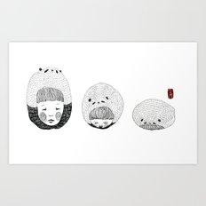 A Bored Panda  Art Print