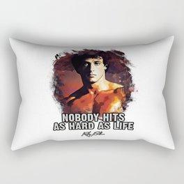 Rocky Balboa - Sylvester Stallone Rectangular Pillow
