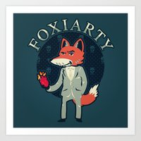 Foxiarty Art Print