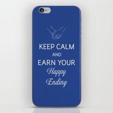 Earn Your Happy Ending iPhone & iPod Skin