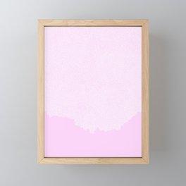 White Flood Framed Mini Art Print
