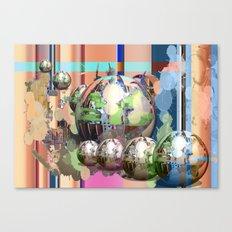 Space Balls Canvas Print
