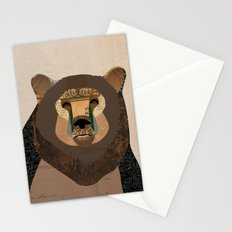 Bear Collage Stationery Cards