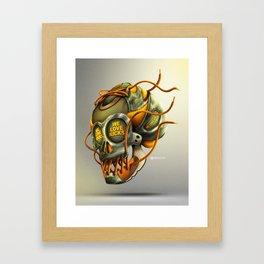 We Love Kicks Framed Art Print