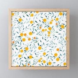 Orange Tree Framed Mini Art Print