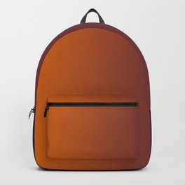 Puple and Orange Gradient 002 Backpack