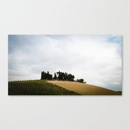 House on the Hills Canvas Print