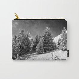 Courchevel 3 Valleys Alps France Carry-All Pouch