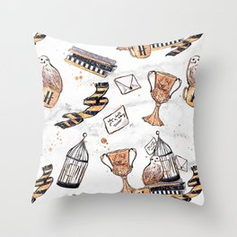 Potter Things Throw Pillow