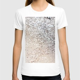 Sparkling GOLD Lady Glitter #6 #decor #art #society6 T-shirt
