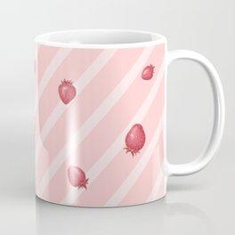 Pink Strawberries Coffee Mug