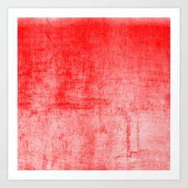 Distressed Coral Textured Canvas Art Print
