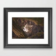 Chrapcio the Fierce Framed Art Print