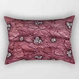 Poppy Flower Rectangular Pillow