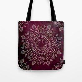 Wine Mandala Tote Bag