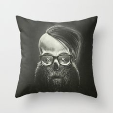 N.E.R.D. - (No-One Ever Really Dies) Throw Pillow