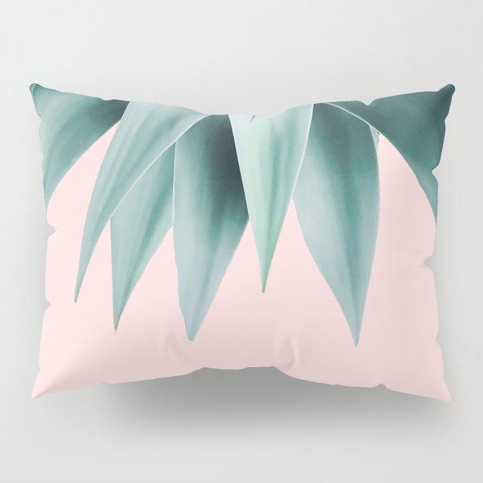 Agave fringe - blush Pillow Sham