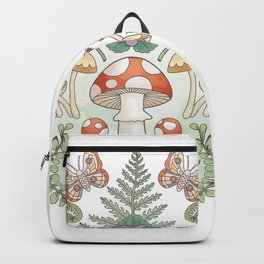 Woodland Mushrooms & Moths Backpack
