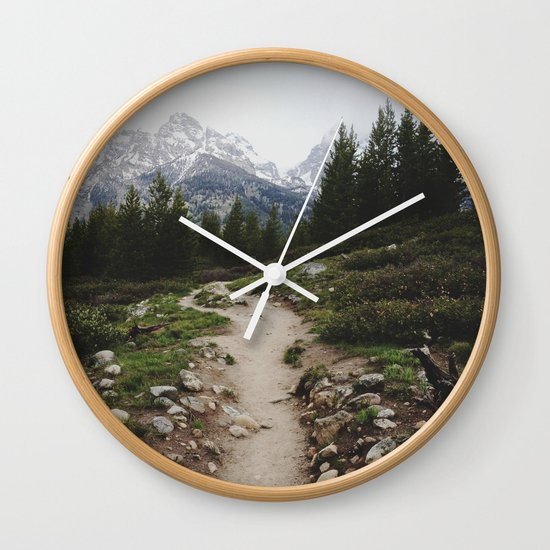 Teton Trail Wall Clock