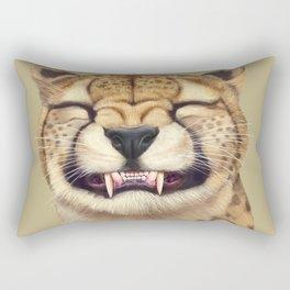 Smiling Cheetah Rectangular Pillow