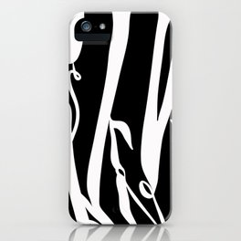 Black Velvet iPhone Case