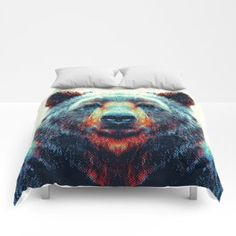 Bear - Colorful Animals Comforters
