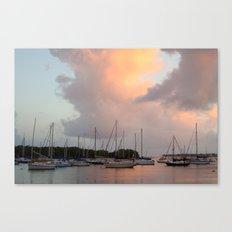 Marina V: Sunset Canvas Print