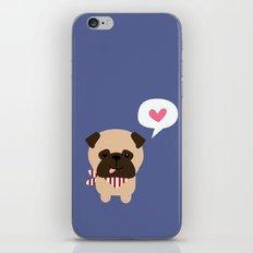 Pancho the Pug iPhone & iPod Skin