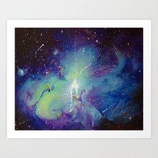 Dream Space Art Print